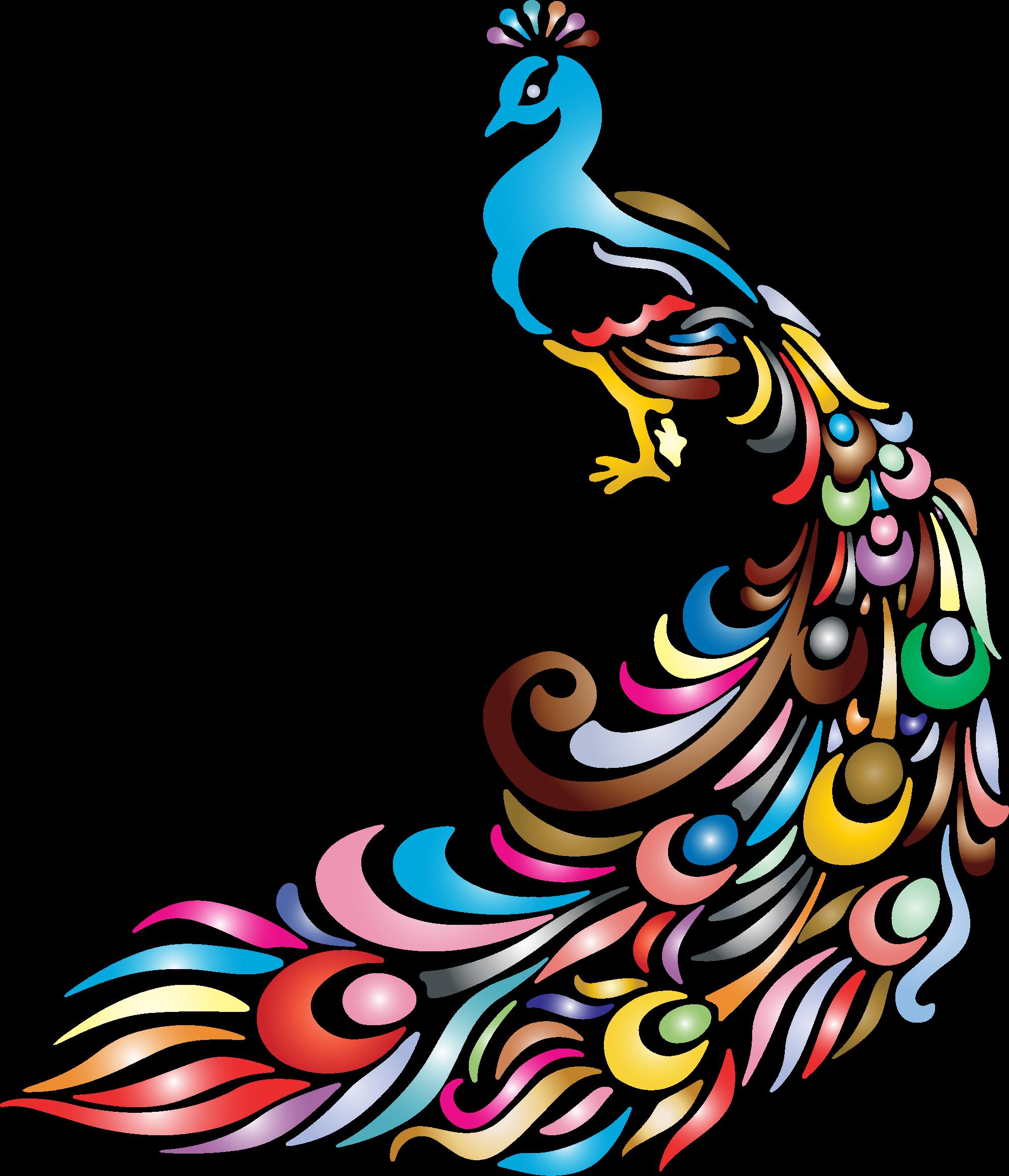 Peafowl Bird Clip art.