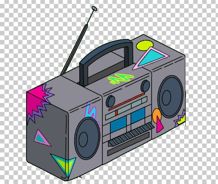 Boombox 1980s Animation PNG, Clipart, 3d Computer Graphics.
