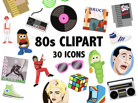 80\'S CLIPART.