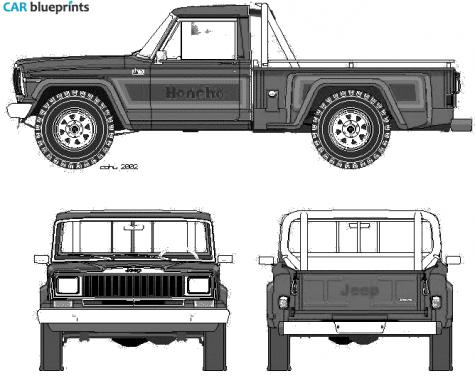 1981 Jeep Honcho Pick.