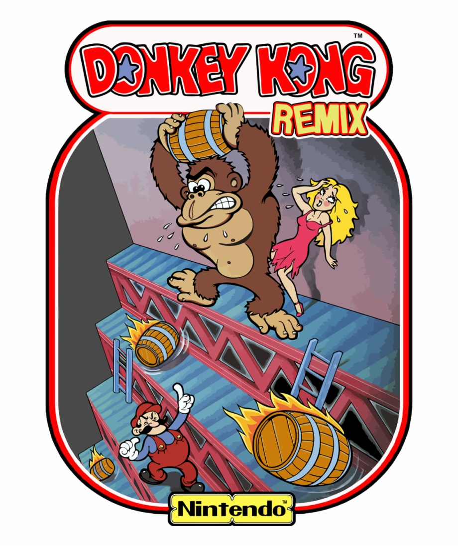 Donkey Kong 1981 Free PNG Images & Clipart Download #2032589.