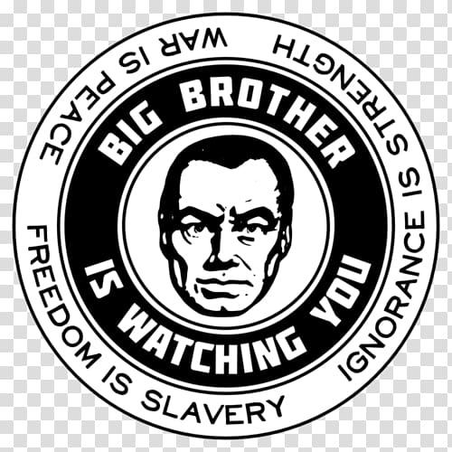 George Orwell Big Brother is watching you. Nineteen Eighty.