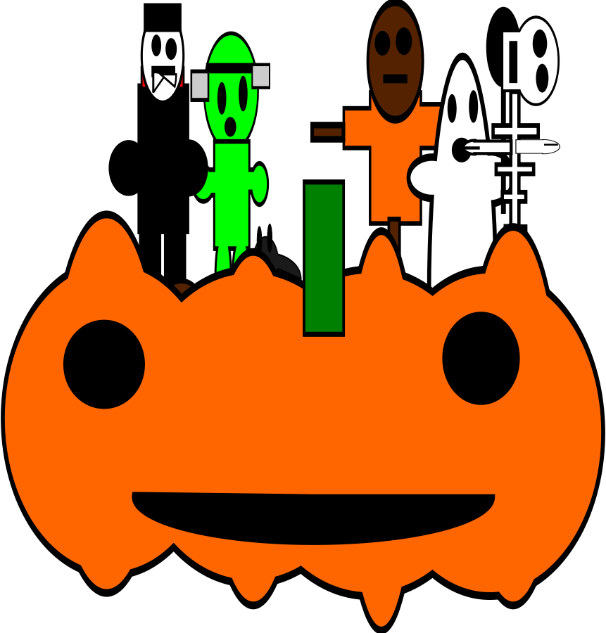 halloween Clipart, vector clip art online, royalty free design.