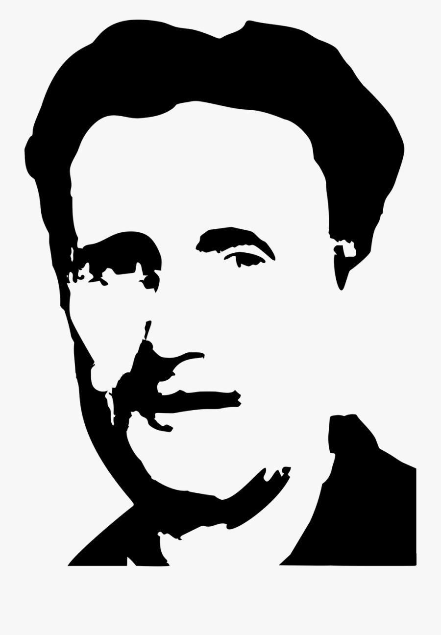 1984 George Orwell Png , Free Transparent Clipart.
