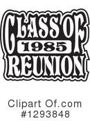 Class Of 1985 Reunion Clipart #1.
