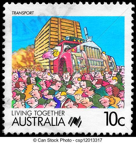 Clipart of AUSTRALIA.