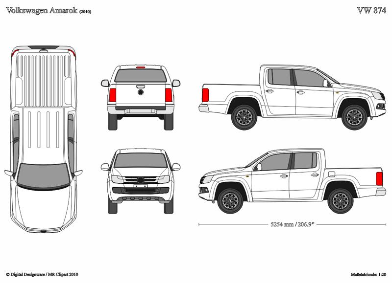 Pickup Truck Clipart Outline www.pixshark.com Images.
