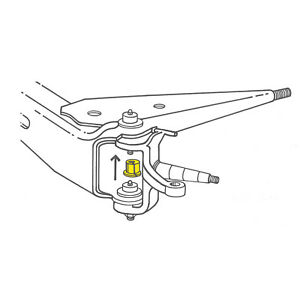 Details about Alignment Camber Bushing fits 1980.
