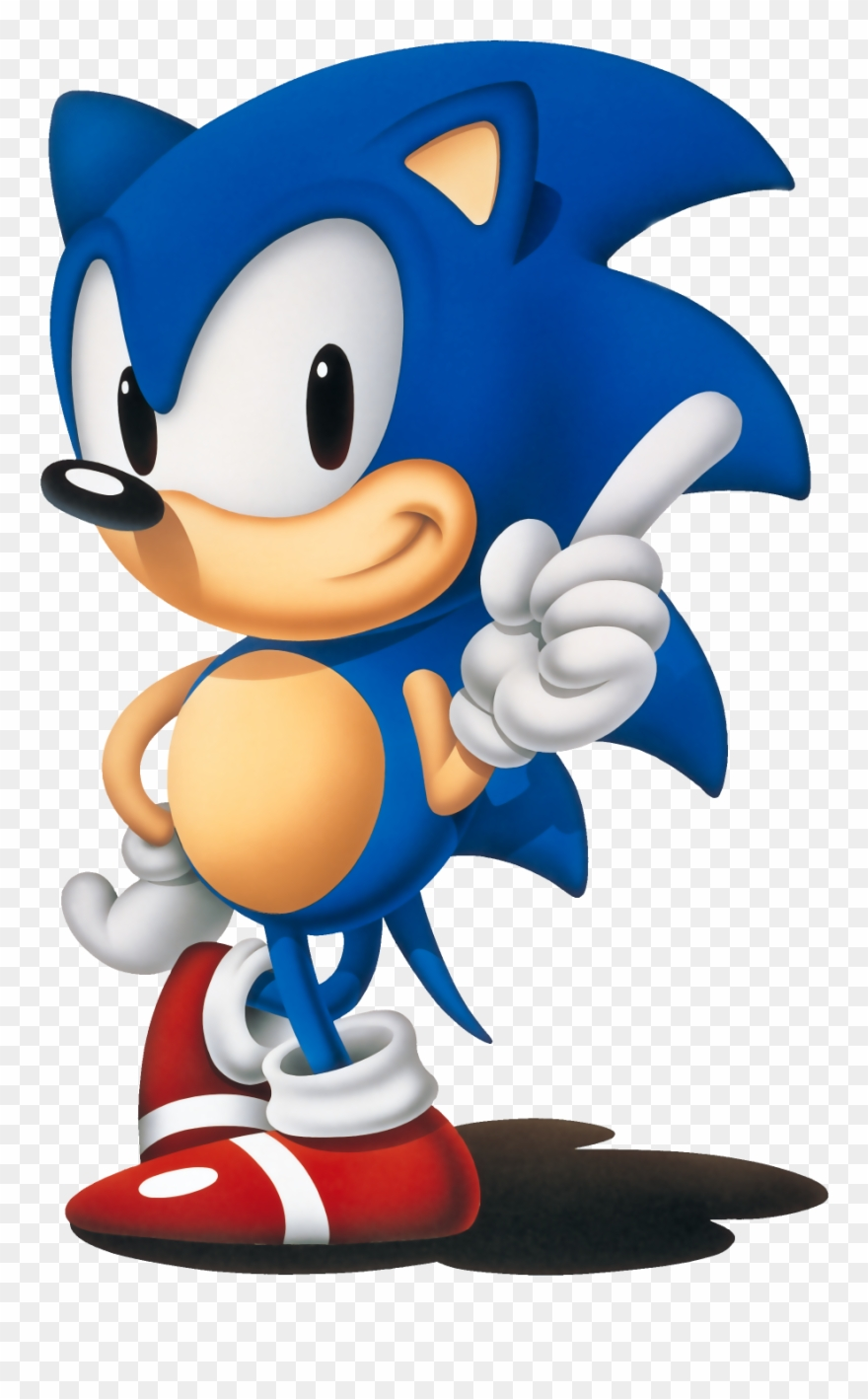 Sonic The Hedgehog 1991 Png Clipart (#314792).