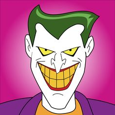 1992 animated joker clipart.
