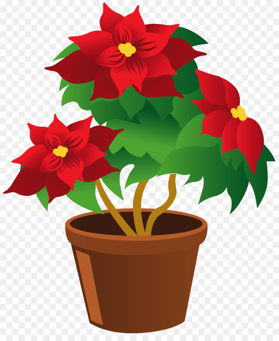 Houseplant Flowerpot Clip art.