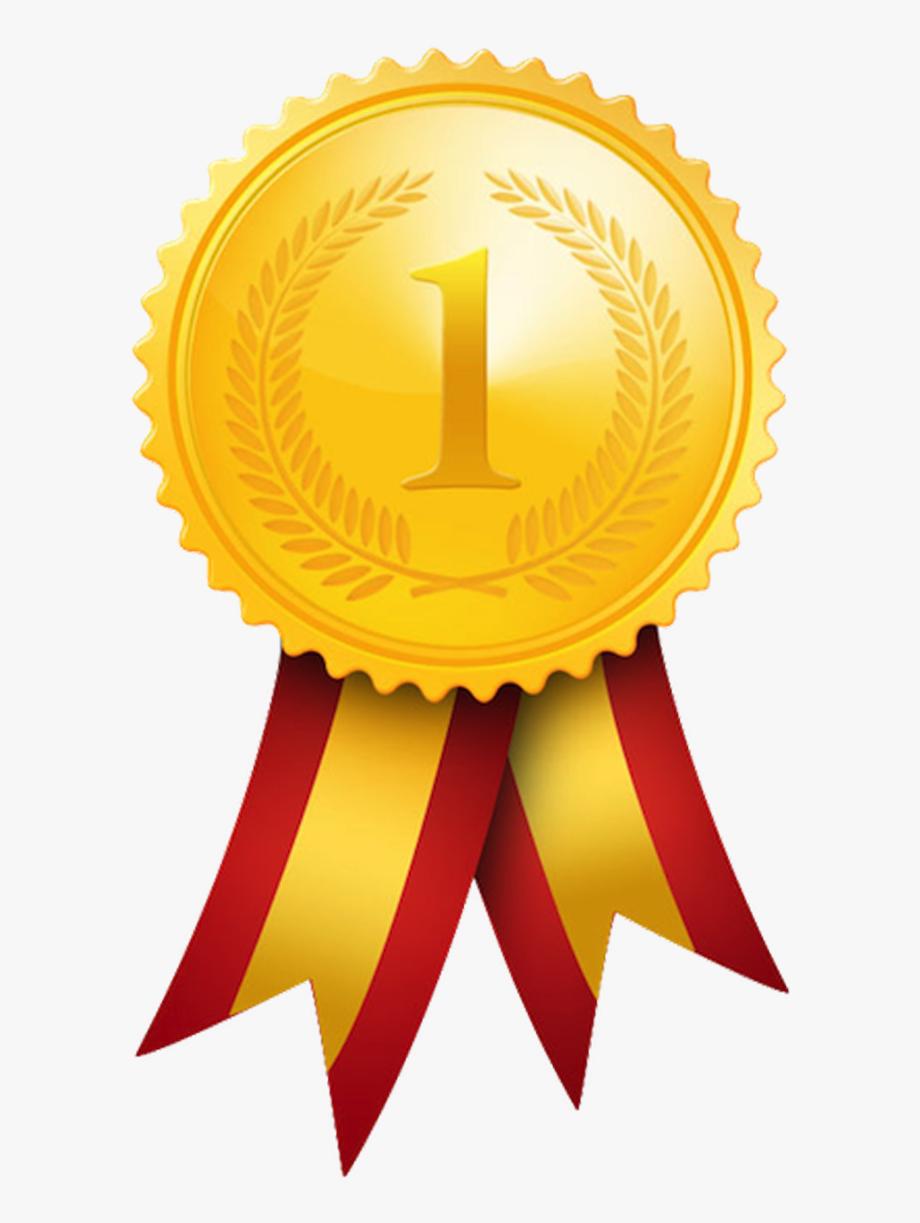 Gold Medal Olympic Medal Award Clip Art.