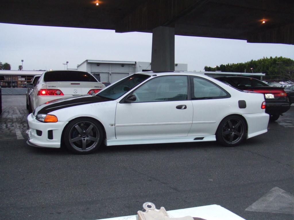 Honda civic import clipart.