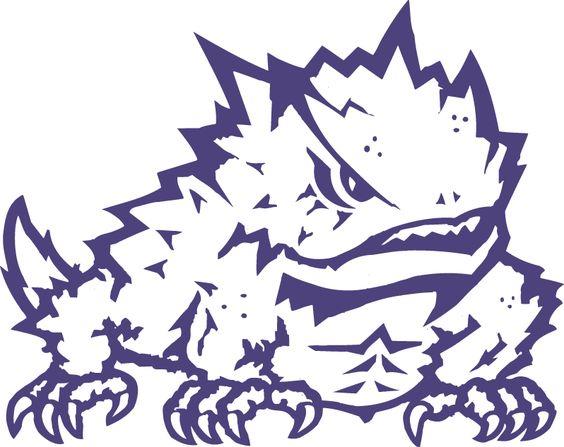 TCU Horned Frogs Secondary Logo (1995).