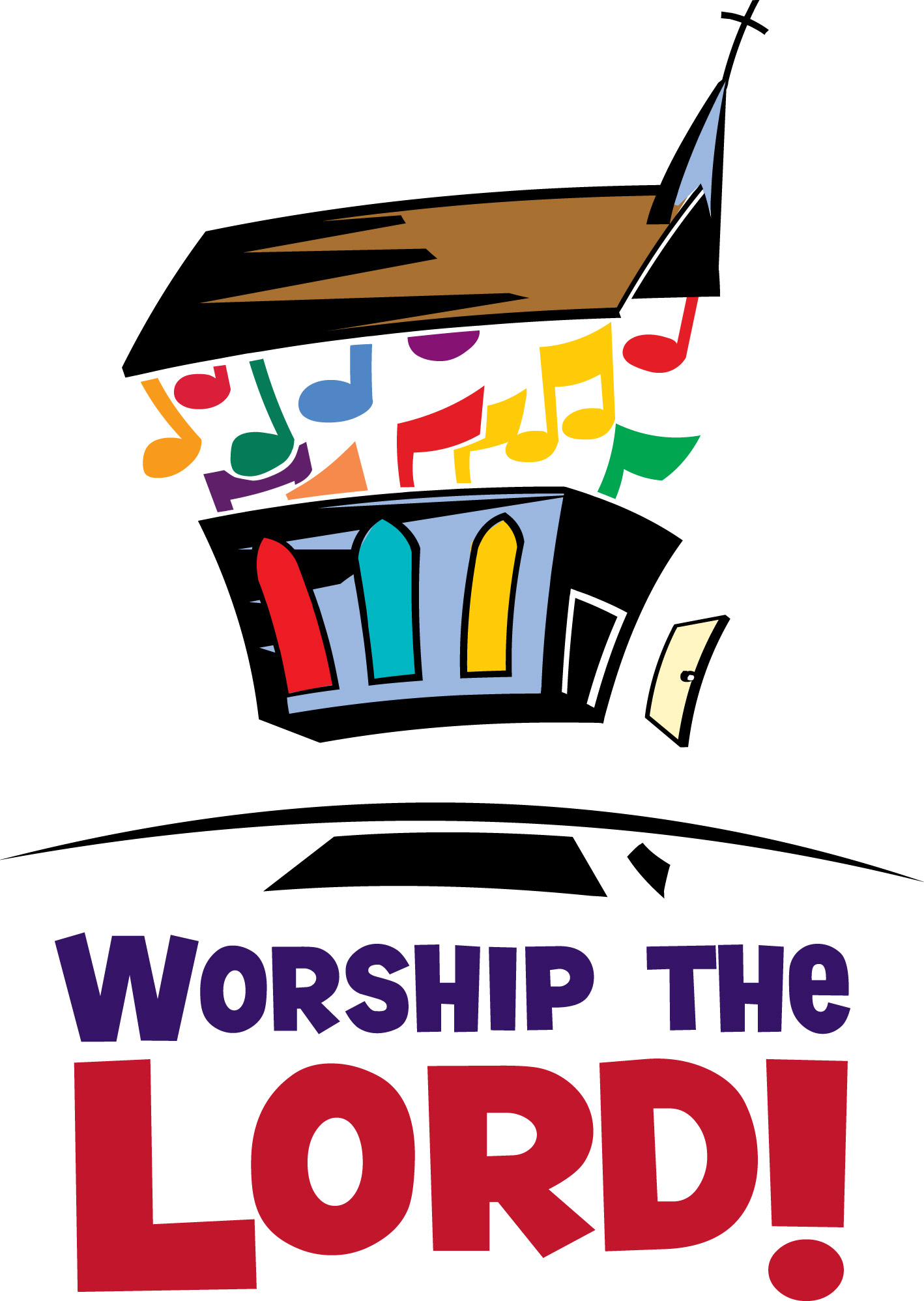 Worship Clip Art of People.