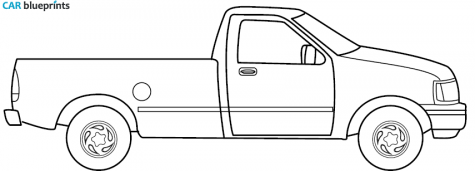 Ford f150 clipart.