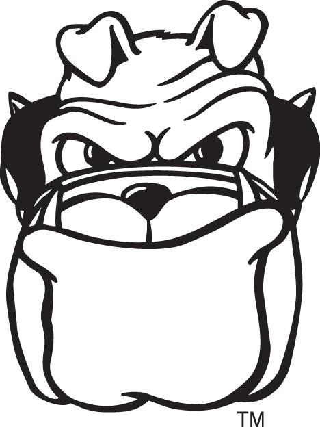 Georgia Bulldogs Mascot Logo (1997).