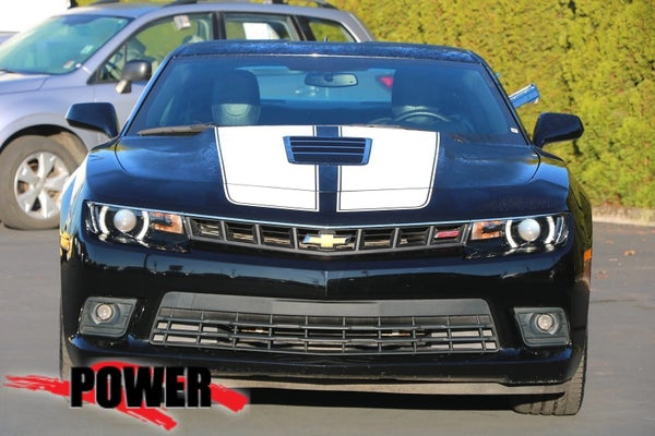 2015 Chevrolet Camaro SS.