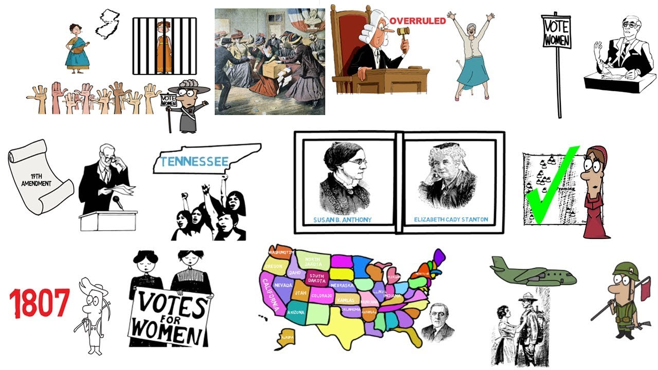 15 COLD FACTS ABOUT WOMEN'S SUFFRAGE AND THE 19TH AMENDMENT.