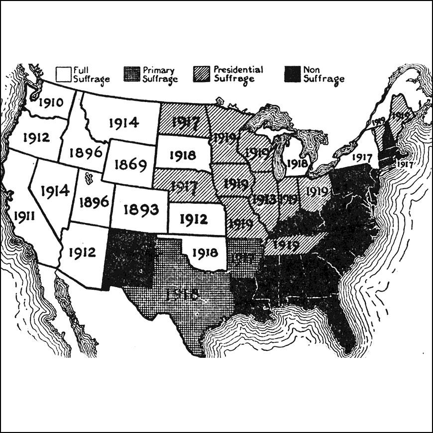 August 18: Nineteenth Amendment.
