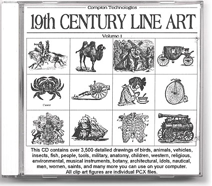 19th century clipart.