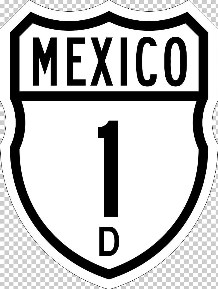 Mexican Federal Highway 1D Brand Logo Product PNG, Clipart.