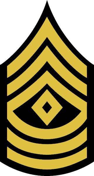 Army 1sg Rank.
