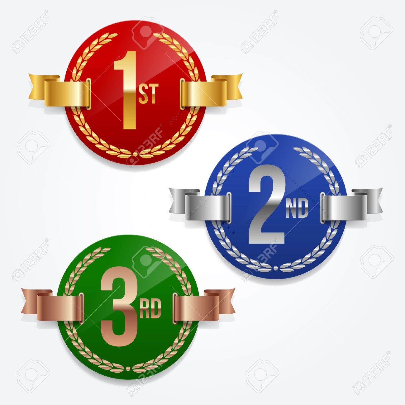 1st 2nd 3rd place clipart 5 » Clipart Station.