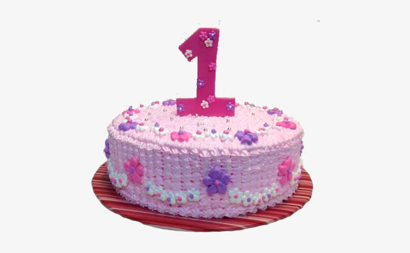 First Birthday Cake Png Clipart.