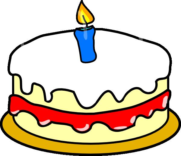 First Birthday Cake Clip Art at Clker.com.