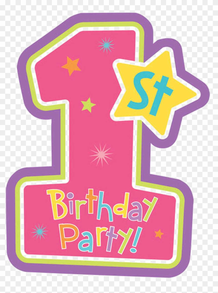 1st Birthday Candle Png.