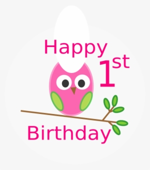 1st Birthday PNG, Free HD 1st Birthday Transparent Image.