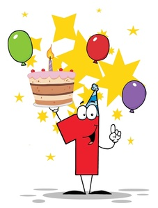 35+ First Birthday Clipart.