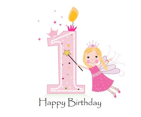 4,208 First Birthday Stock Vector Illustration And Royalty Free.