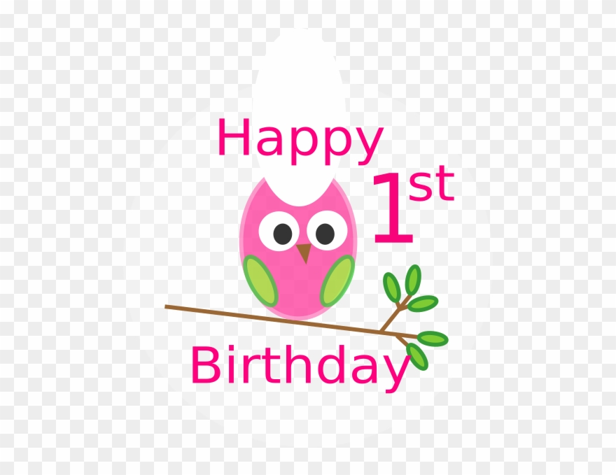 Happy 1st Birthday Girl Meme Clipart (#2121525).