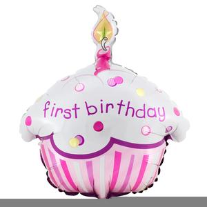 Girls St Birthday Clipart.