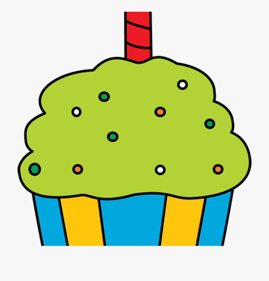 Birthday Cupcake Clipart Of 4709 Clip Art Digital.