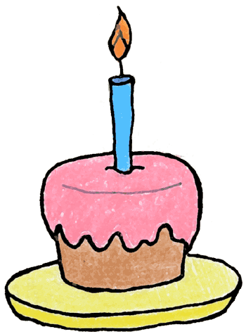 Best Birthday Cupcake Clipart #20732.