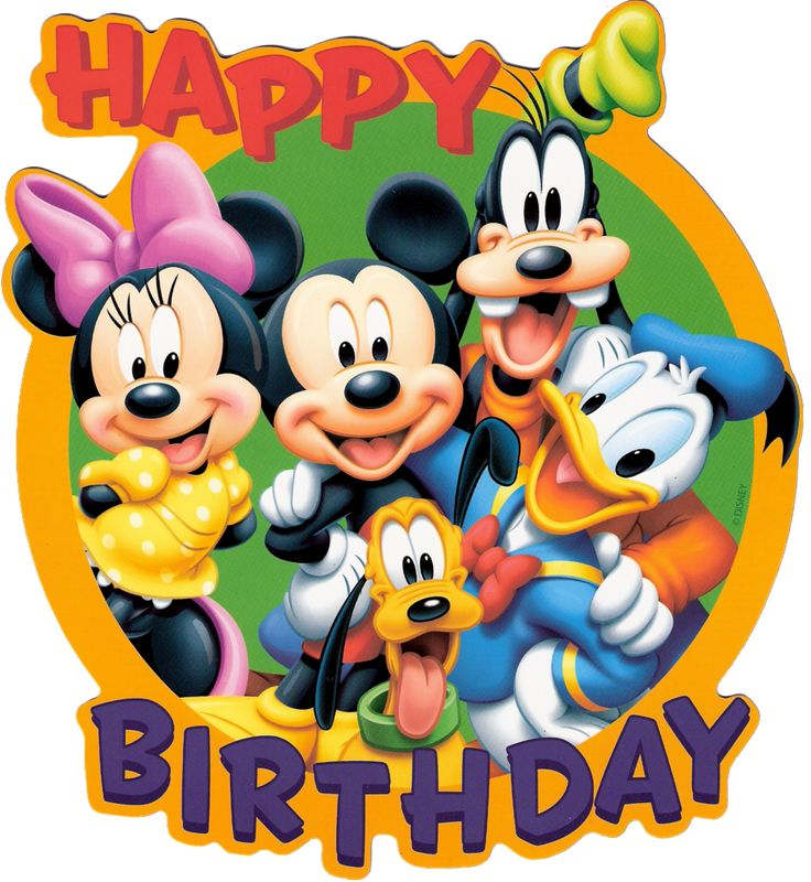 Disney Happy Birthday Clipart at GetDrawings.com.