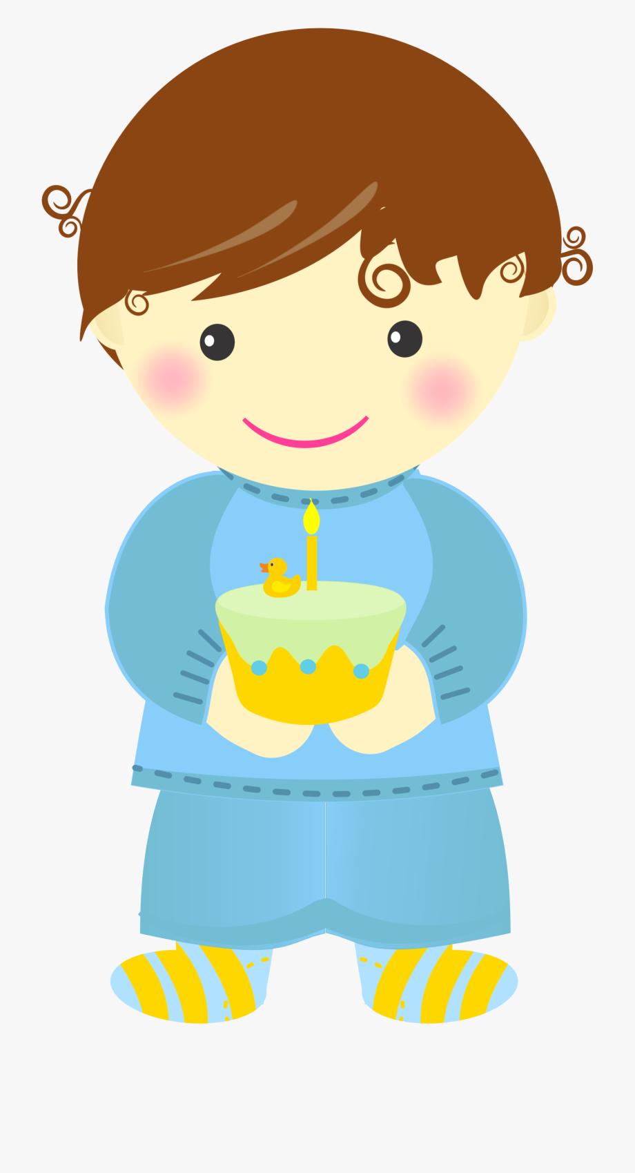 Baby's First Birthday Clip Art.
