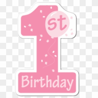 1st Birthday Pink PNG Images, Free Transparent Image Download.
