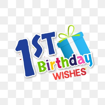 First Birthday Png, Vector, PSD, and Clipart With Transparent.