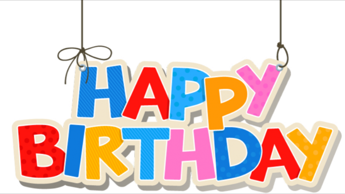 1st Birthday Logo Png 2 Vector, Clipart, PSD.