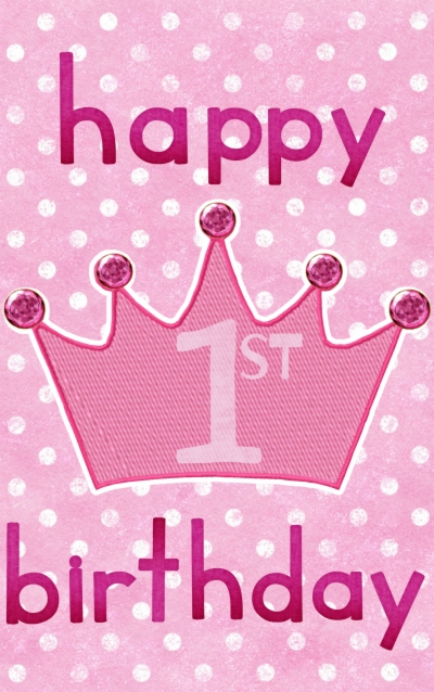 Free First Birthday Png, Download Free Clip Art, Free Clip.