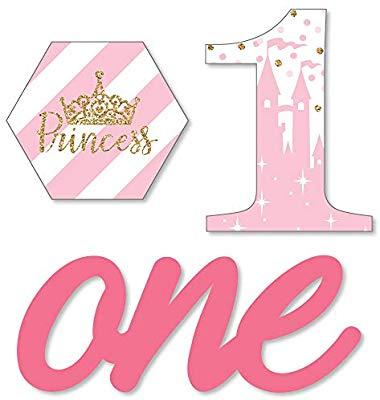 1st Birthday Little Princess Crown.