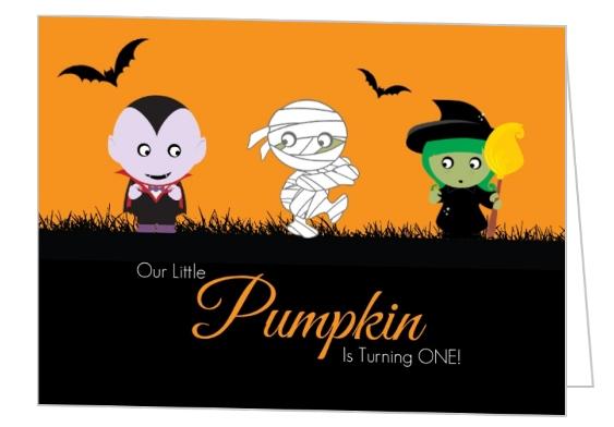 1st Birthday Pumpkin Party Ideas, Invitations, Wording, DIY Decor.