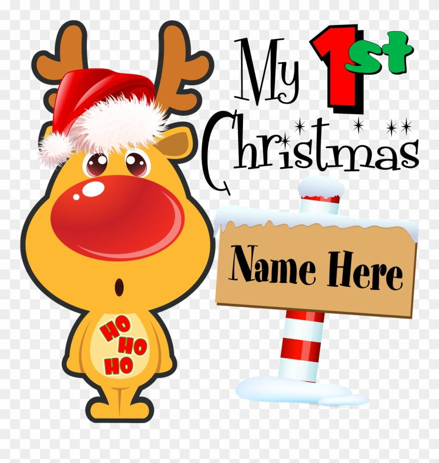 My First Christmas Celebrate Baby\'s 1st Christmas With.