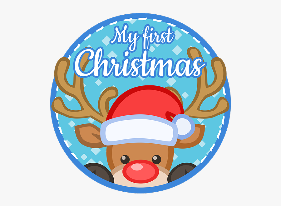 My First Christmas Free , Free Transparent Clipart.