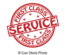 First class service Stock Illustrations. 614 First class service.
