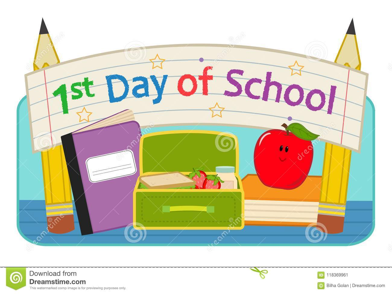 First Day School clip.